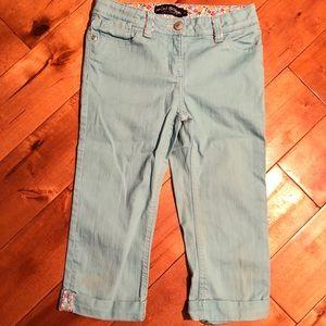 Mini Boden Capri Jeans Size 9Y